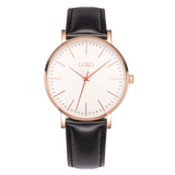 Noble-Rose-Gold-Black-Leather-Watch-Men's-Watches-Lord-Timepieces