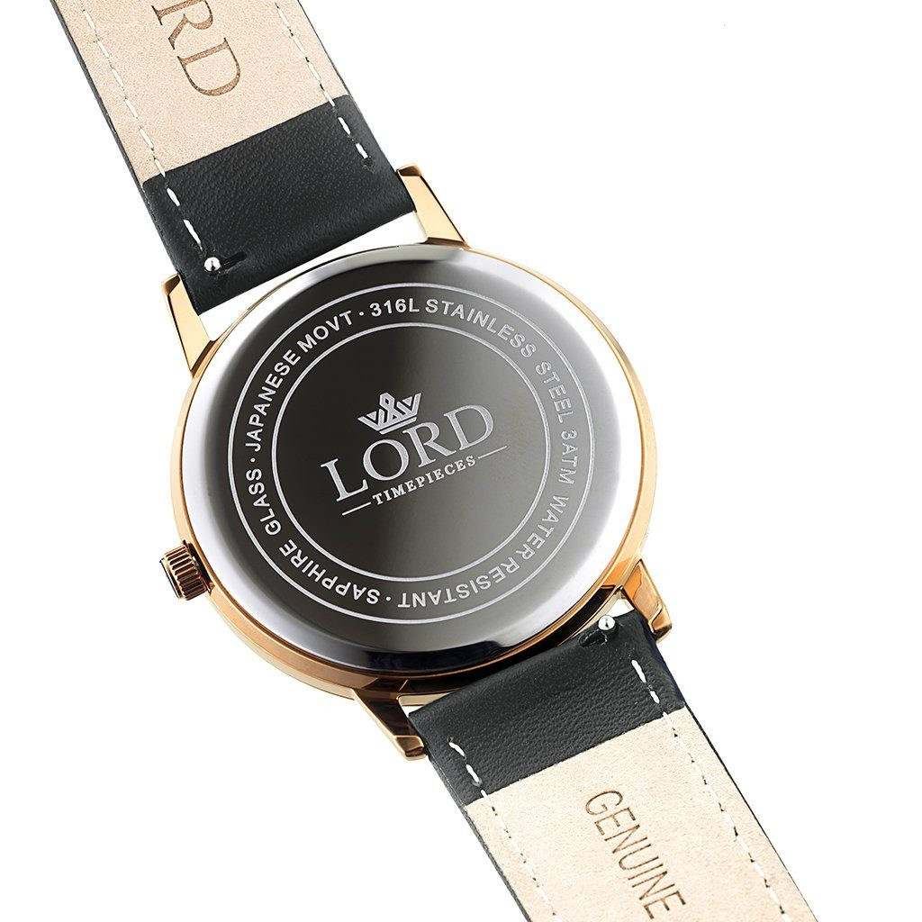 Noble-Rose-Gold-Black-Leather-Watch-back