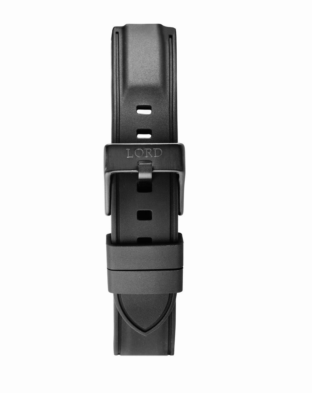 22mm-Black-Silicone-Strap