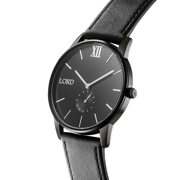 Solitude-Black-Silver-Watch-back