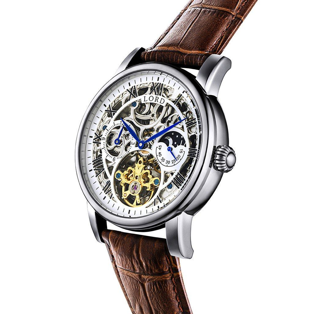 lord timepieces legacy silver watch
