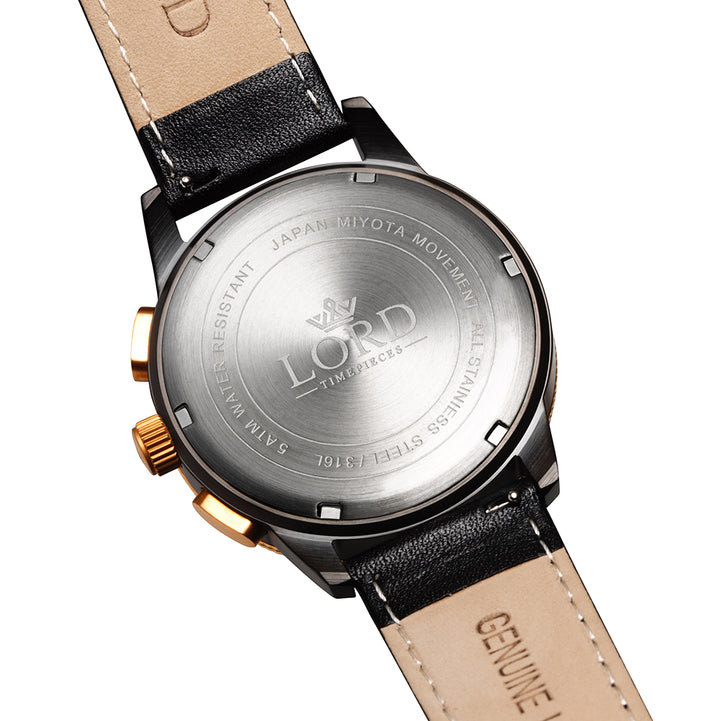 Lordtimepieces-Chrono-Rose-Gold-Black-watch-back