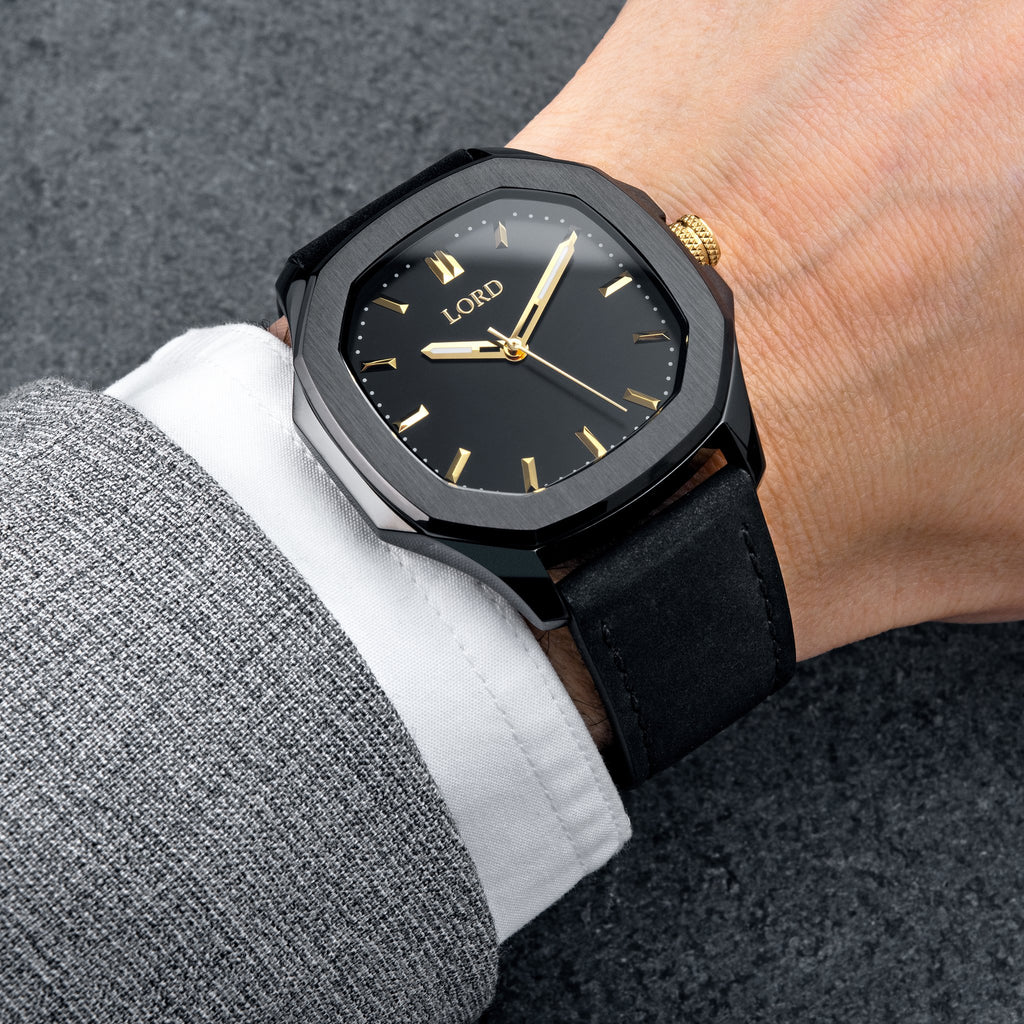 Lord-timepieces-astro-black-gold-wrist-shot
