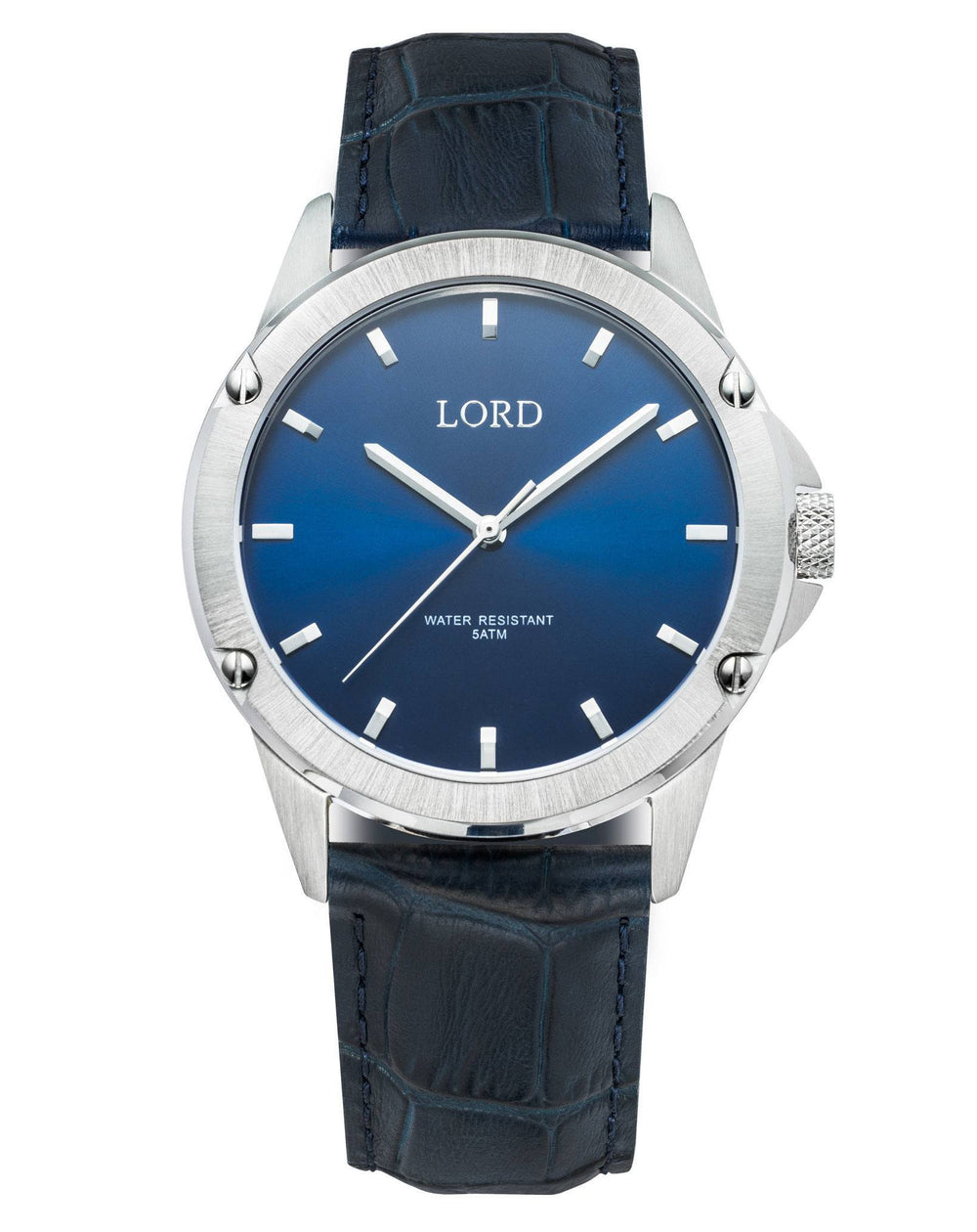 Bolt-Blue-Silver-Watch