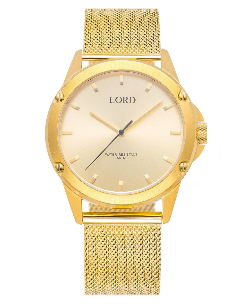 Bolt-gold-watch