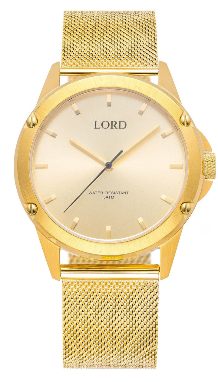 Golden Watch | Men's Watches | Lord Timepieces