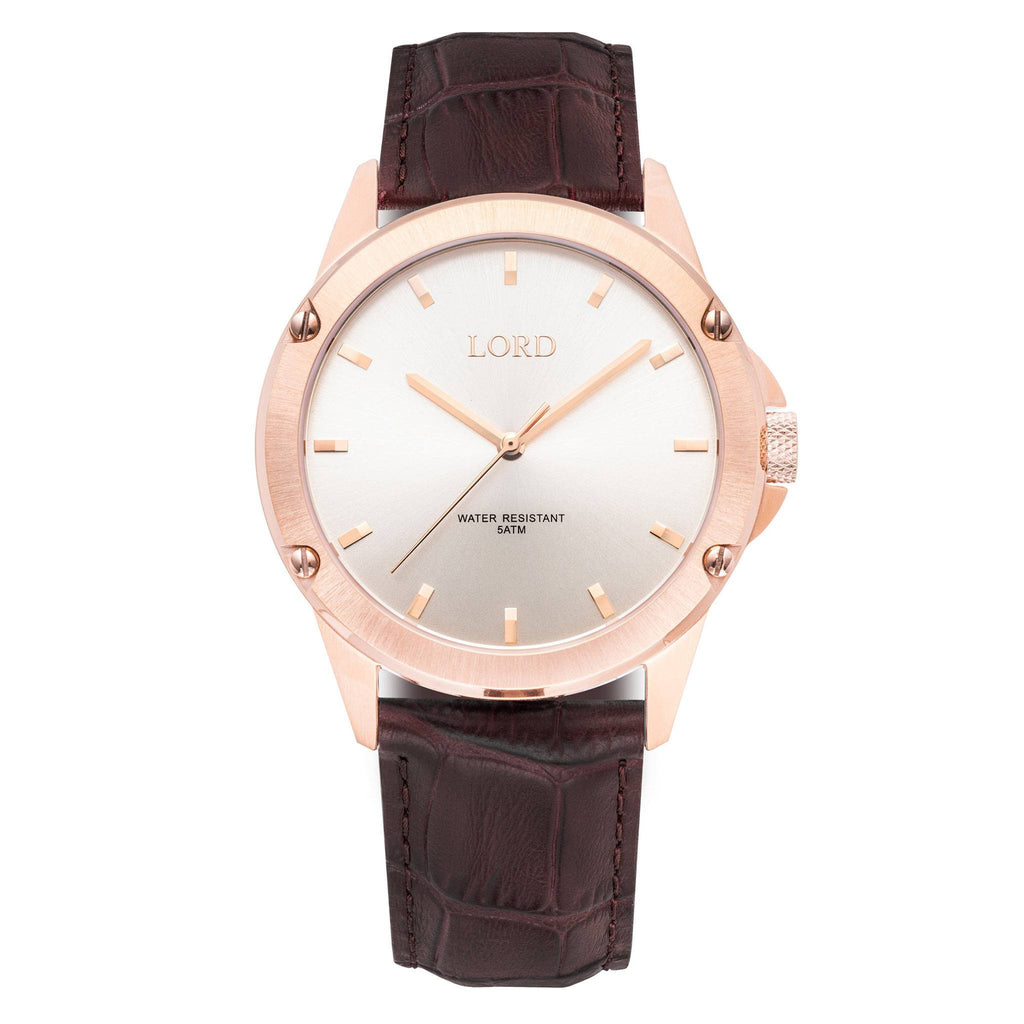 Bolt-White-Rose-Watch-Men's-Watches-Lord-Timepieces