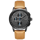 Chrono Gunmetal Tan
