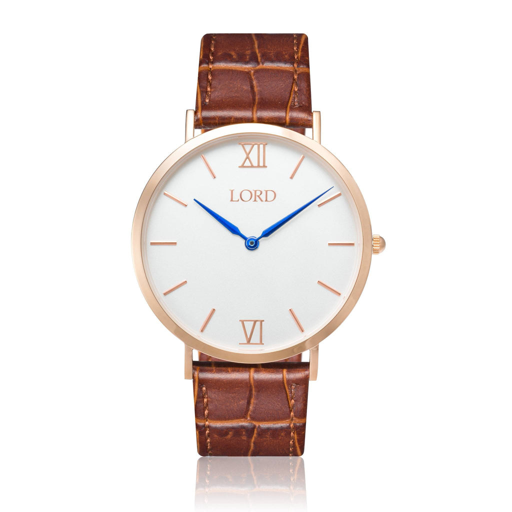 Classic Brown Watch | Men's Watches | Lord Timepieces