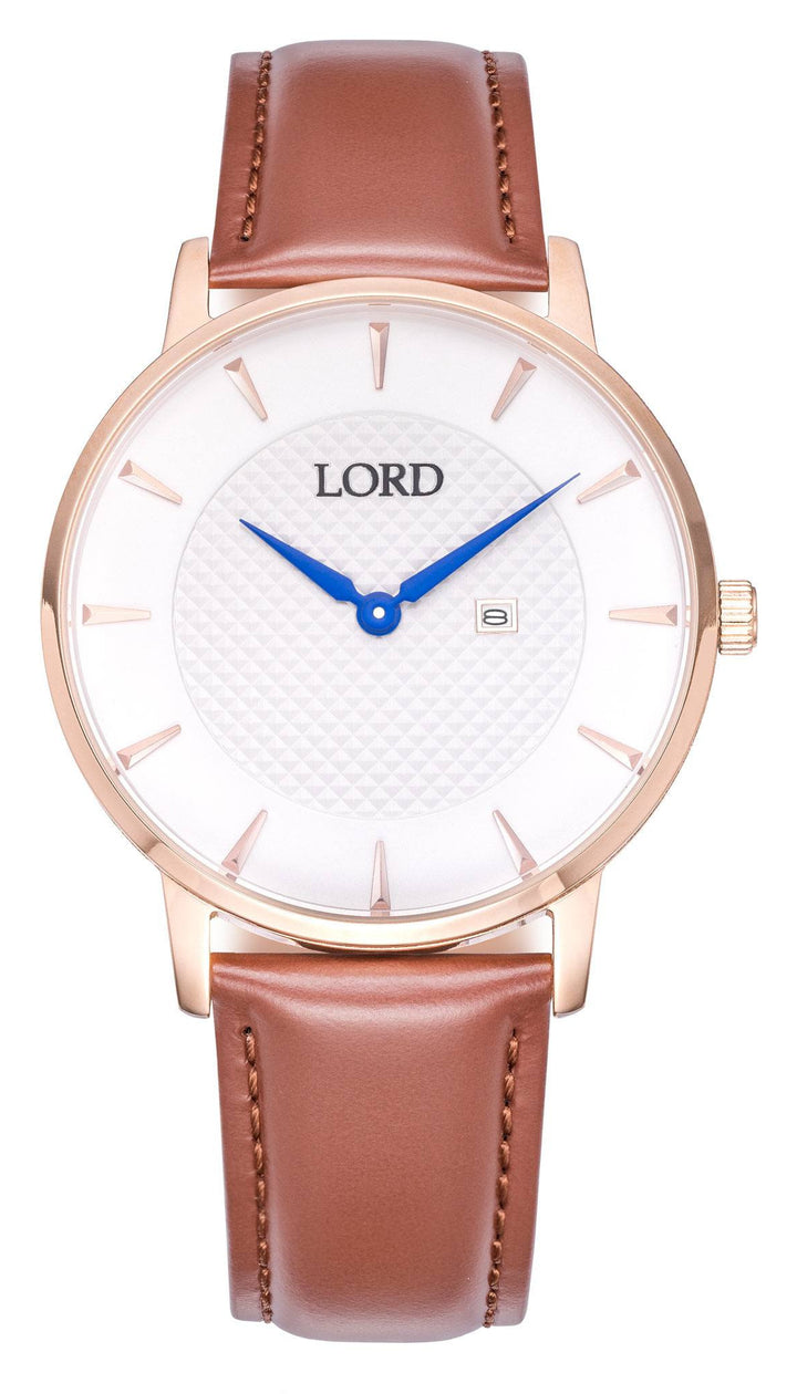 Classic-date-White-Watch-Men's-Watches-Lord-Timepieces