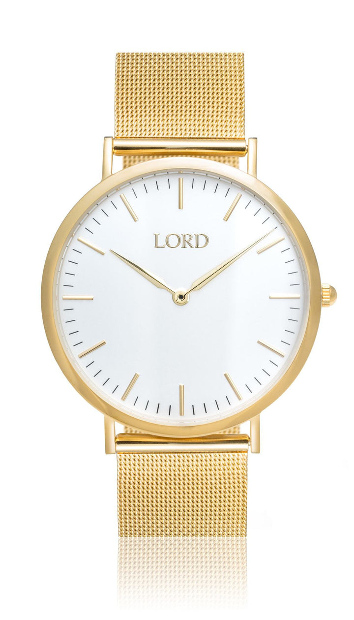 Classic Gold Watch | Classic Men's Watches | Lord Timepieces