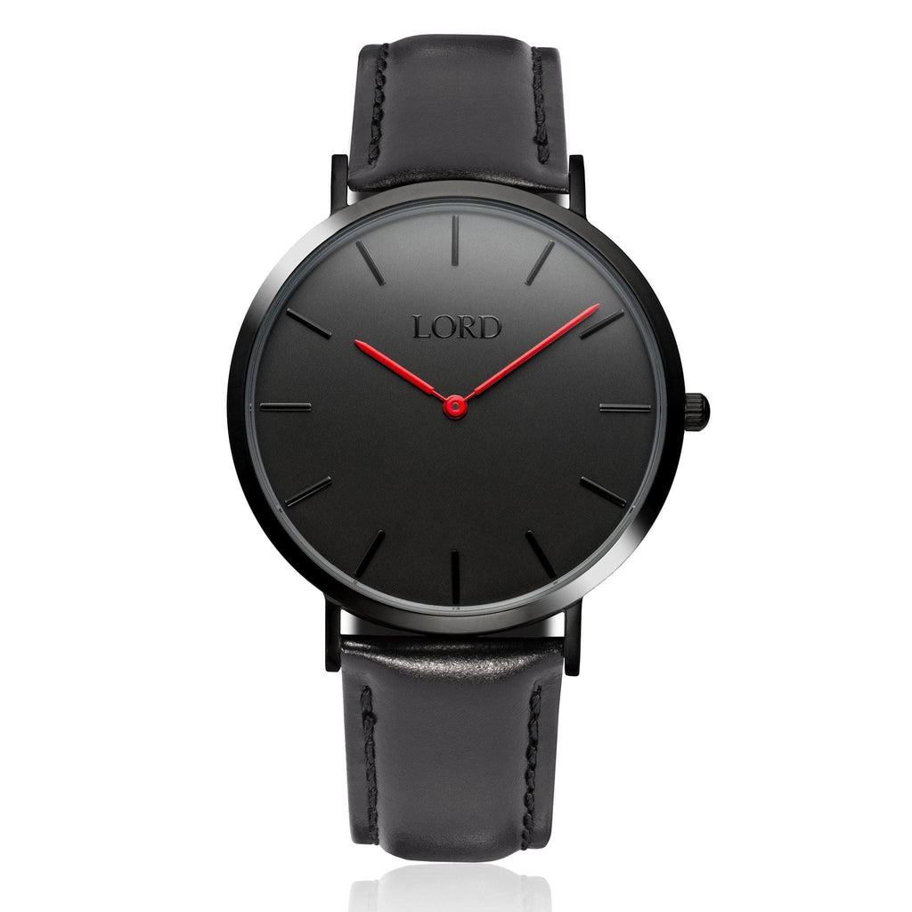 Classic Black Watch | Classic Men's Watches | Lord Timepieces