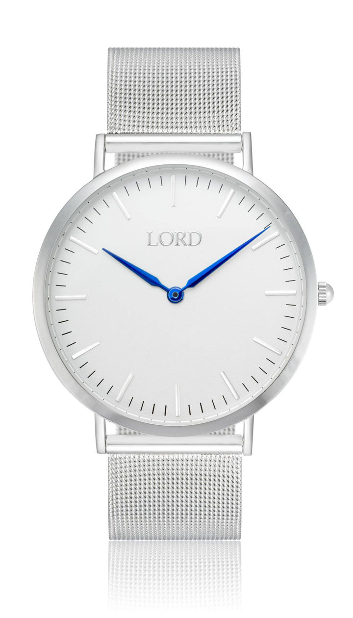 Classic Silver Watch | Men's Watches | Lord Timepieces