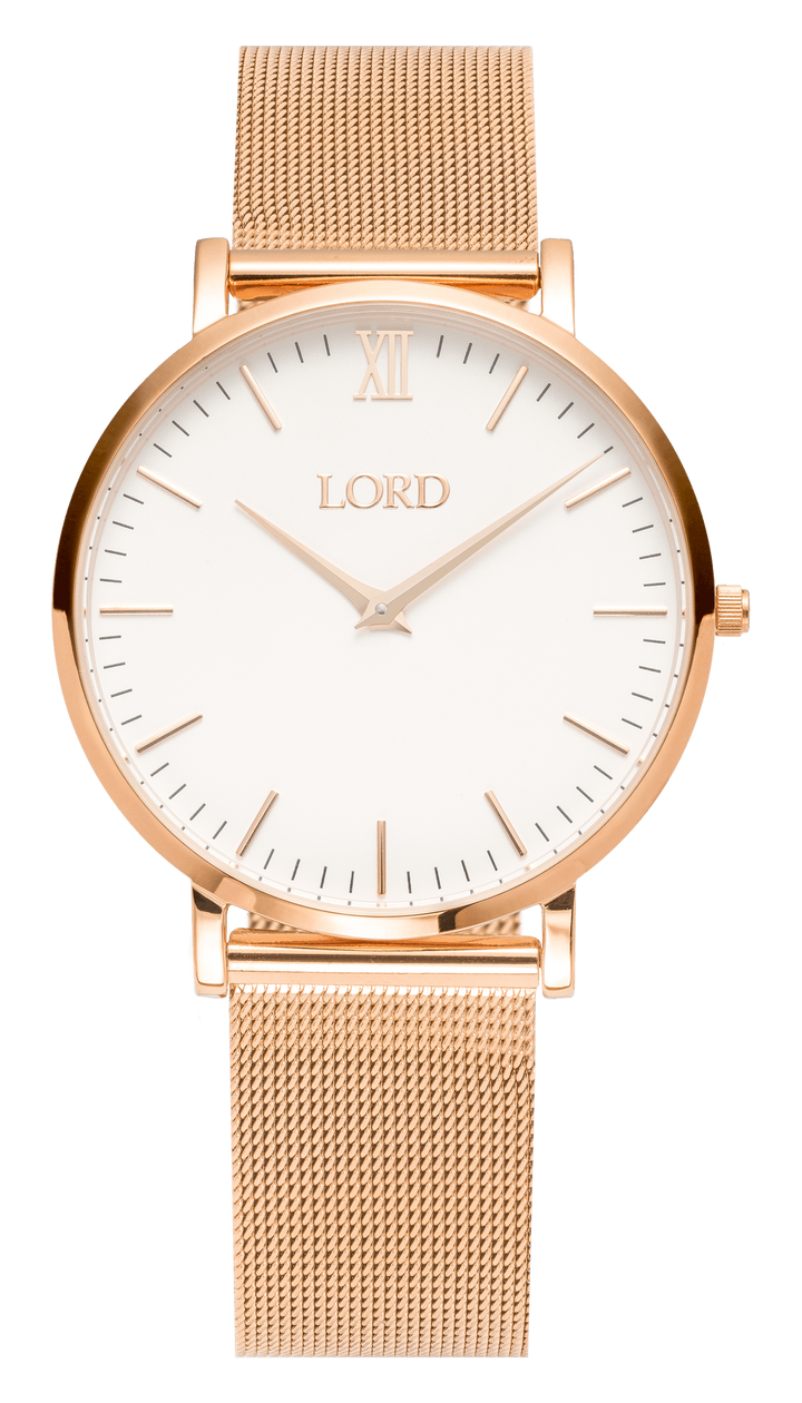 Classic Rose Gold Watch | Women's Watches | Lord Timepieces