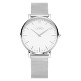 Classic Silver Ladies Stainless Steel Watch | Lord Timepieces