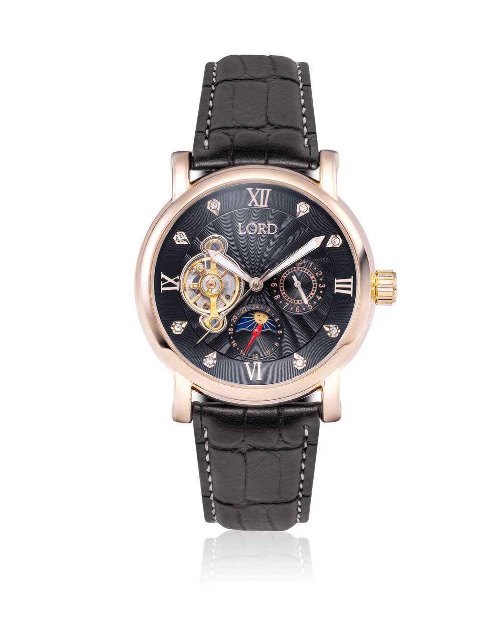 Golden Black Watch | Women's Watches | Lord Timepieces