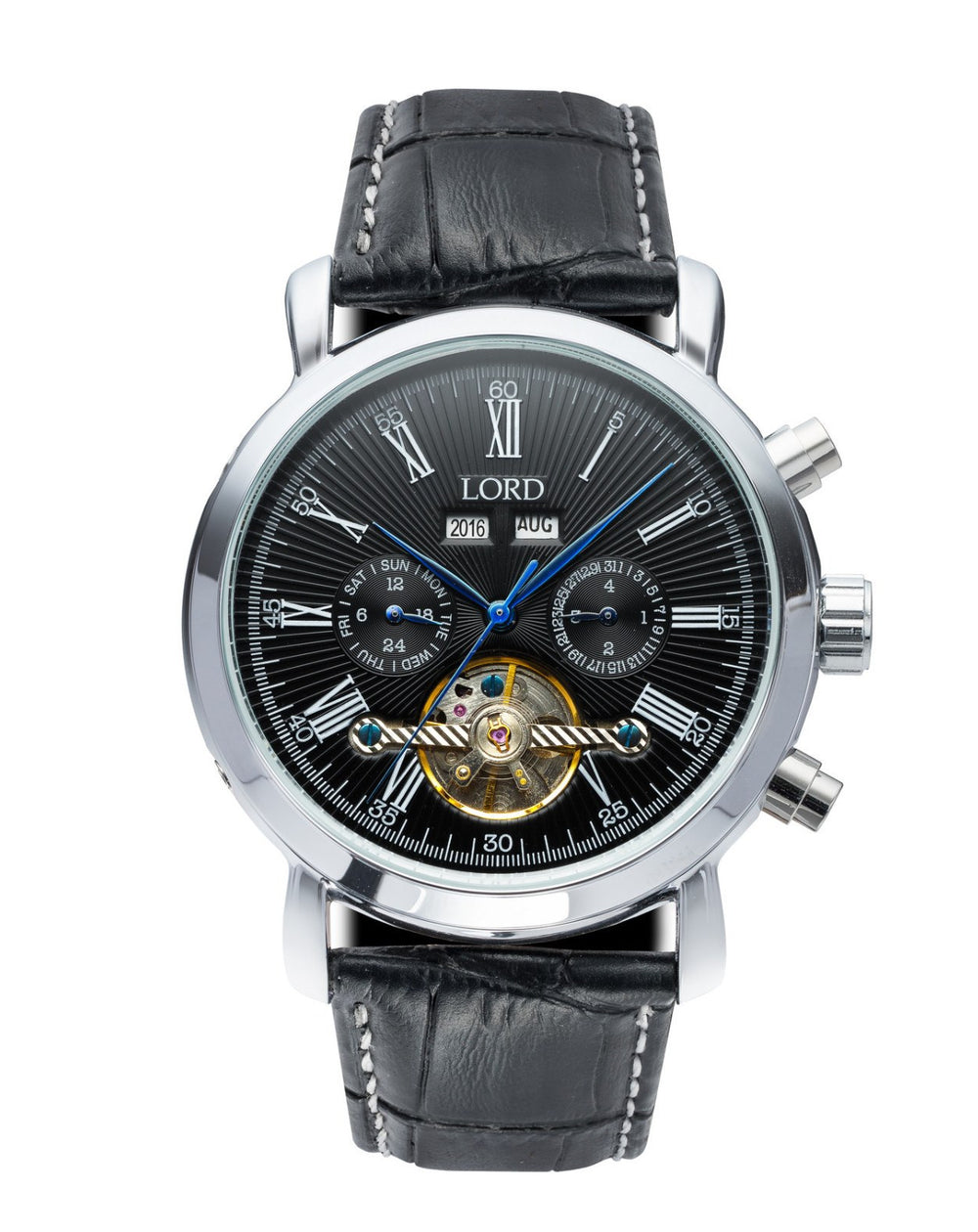 Black & Silver Kingston Watch | Men's Watches | Lord Timepieces