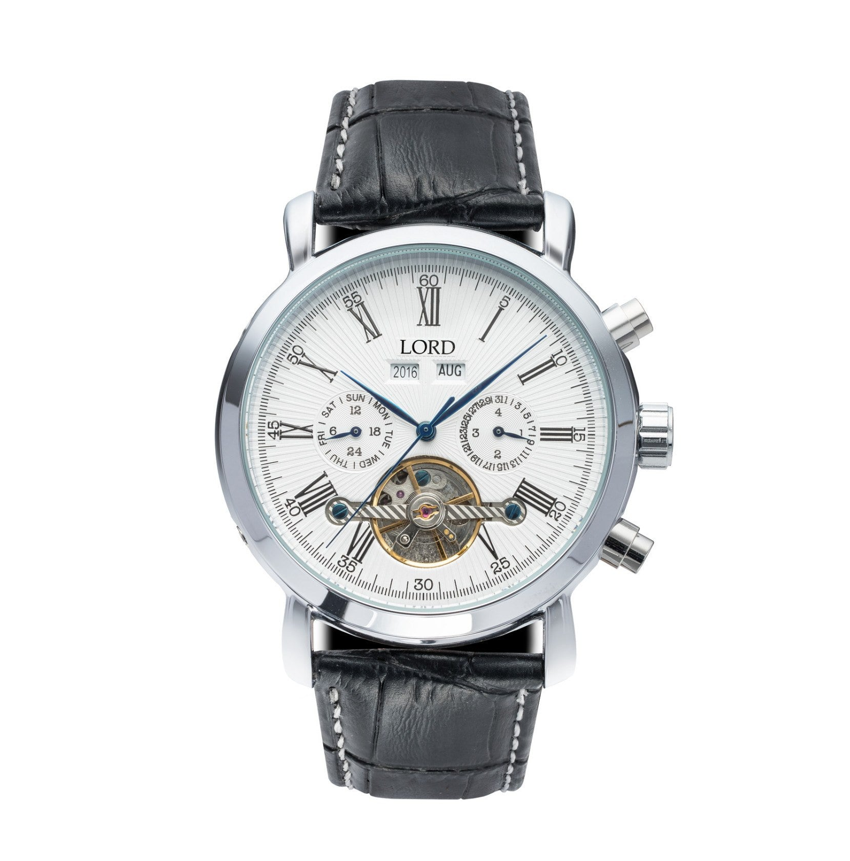 Kingston Silver White Watch   Men's Watches   Lord Timepieces