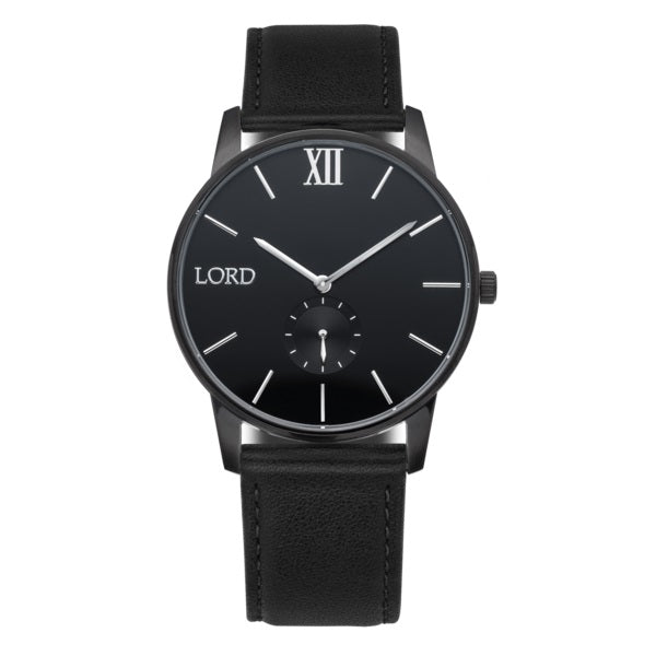 Solitude-Black-Silver-Watch-Men's-Watches-Lord-Timepieces