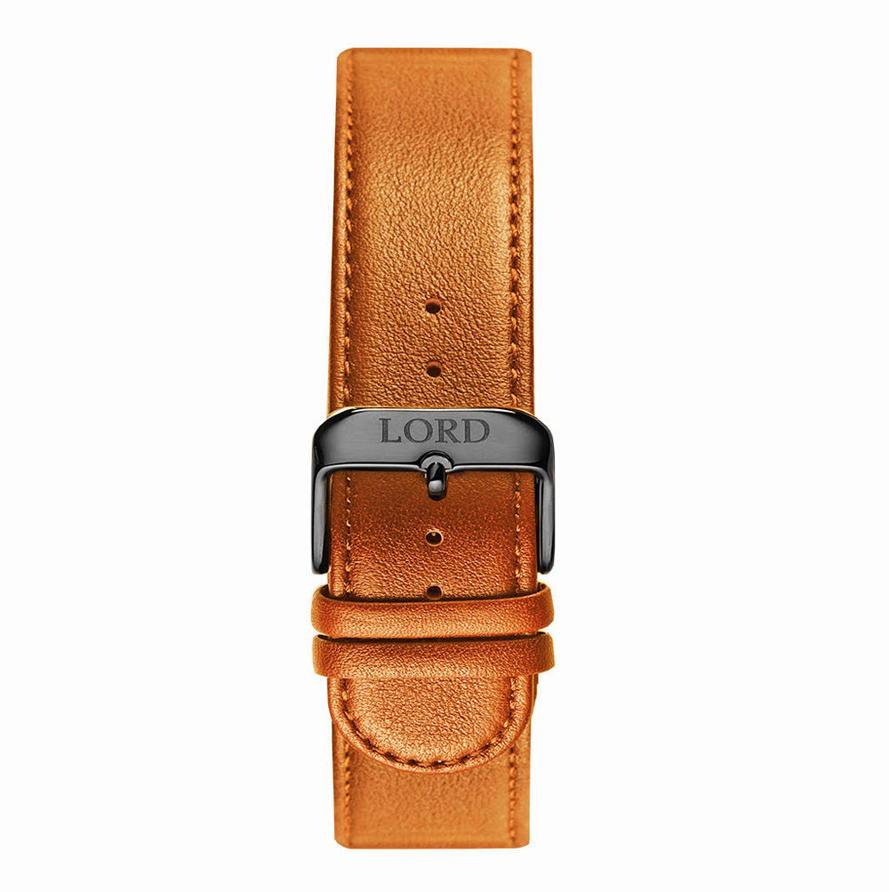 22mm Natural Tan Leather Strap