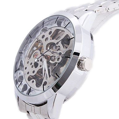 Silver Watch | Men's Watch  - Lord Timepieces All Back