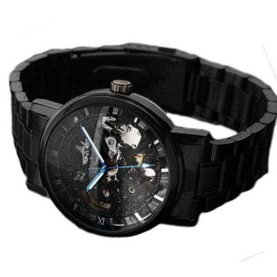 Black Voltaic Watch | Men's Watches |  Lord Timepieces