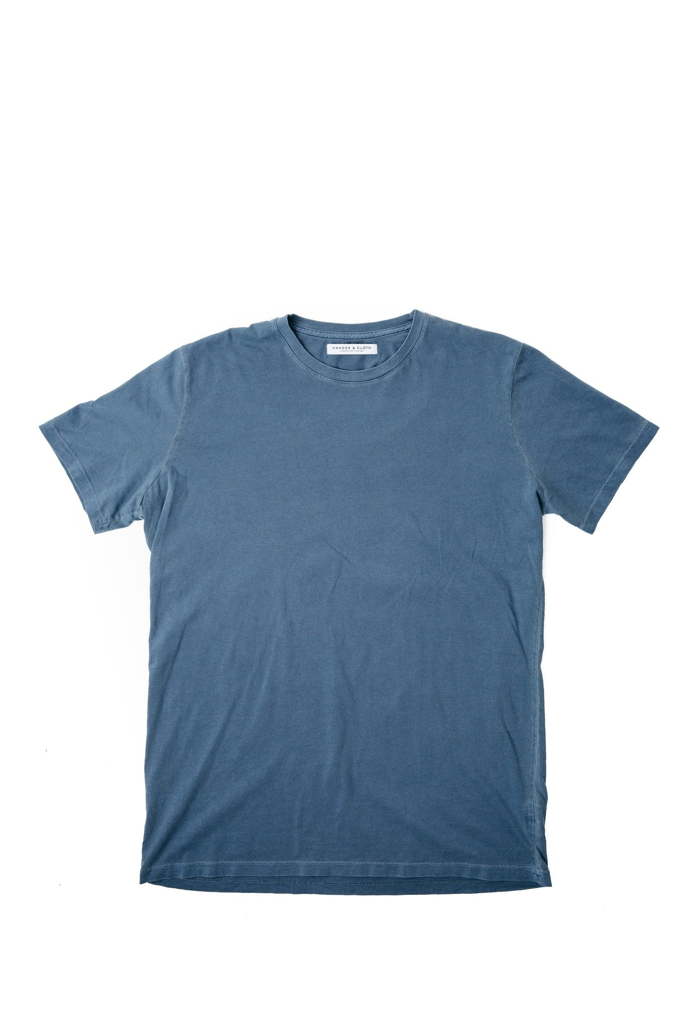 MEN'S CLASSIC CREW TATTERED NAVY
