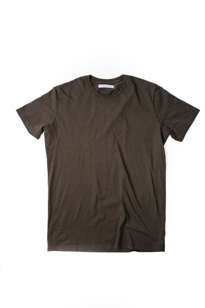 MEN'S POCKET-T BLACK SMOKE