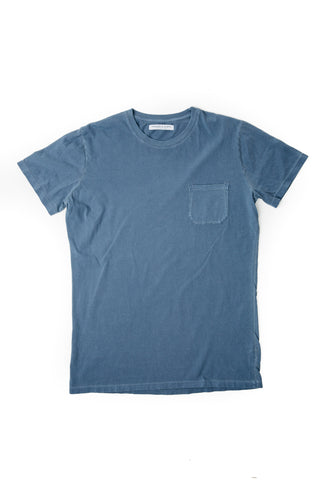 MEN'S POCKET-T TATTERED NAVY
