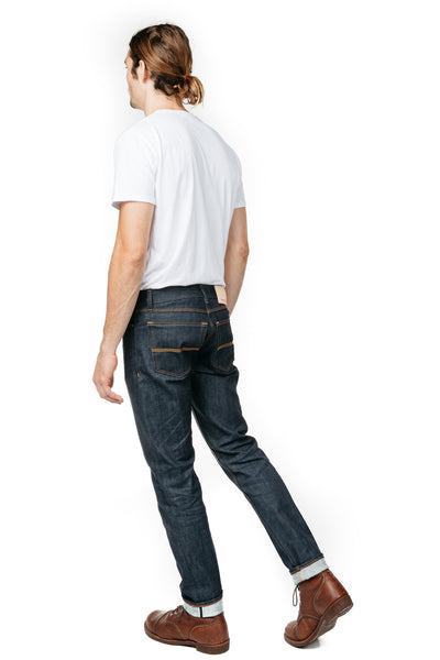 HANGER & CLOTH SLIM TAPER WHITE OAK CONE DENIM