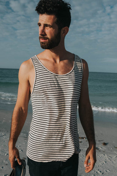 STRIPED SAND SLUB TANK