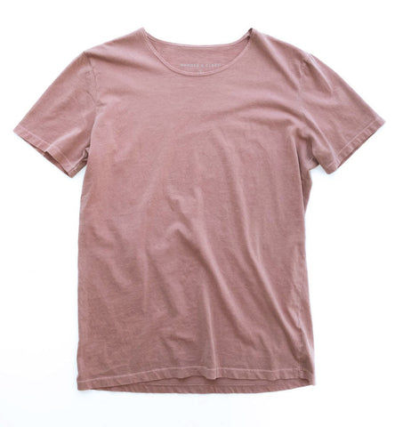 THE NATE SCOOP NECK IN MAUVE