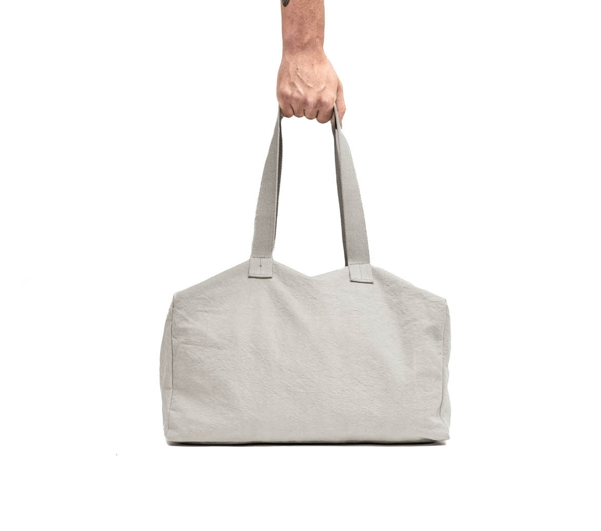 Clay Cotton Canvas Duffel