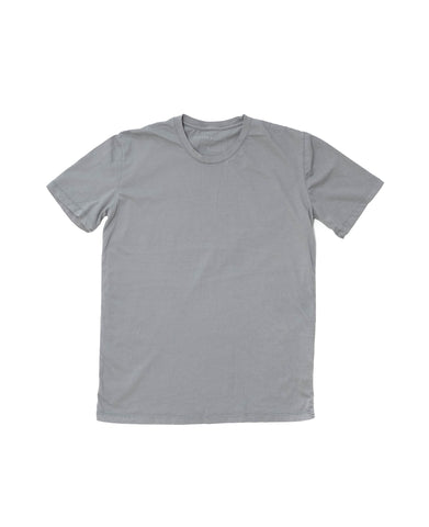 Organic Soft Gray Crew Neck