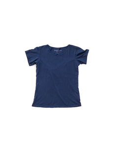 Navy Organic Scoop Neck