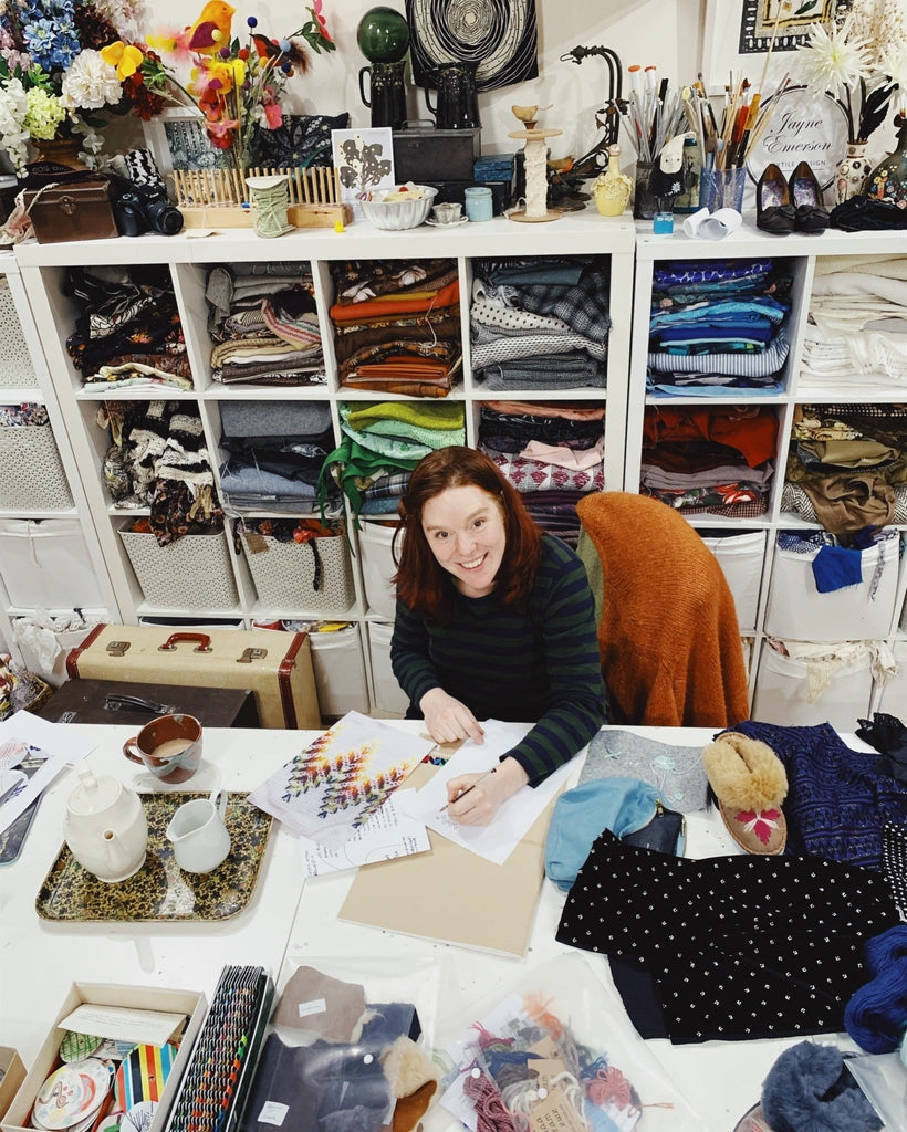 Creative Collaborations: Jayne Emerson, textile designer.