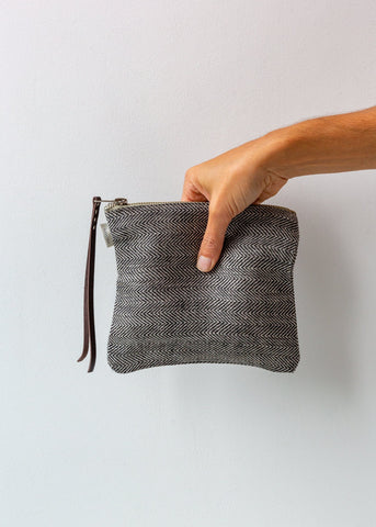 Jute Macramè Shopper/Beach Bag - Grey