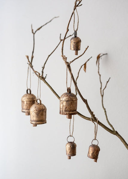 Antique Gold Bells - The Small Home