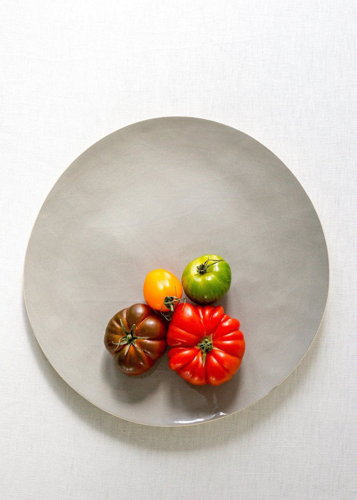 Brickett Davda Large Round Platter - The Small Home