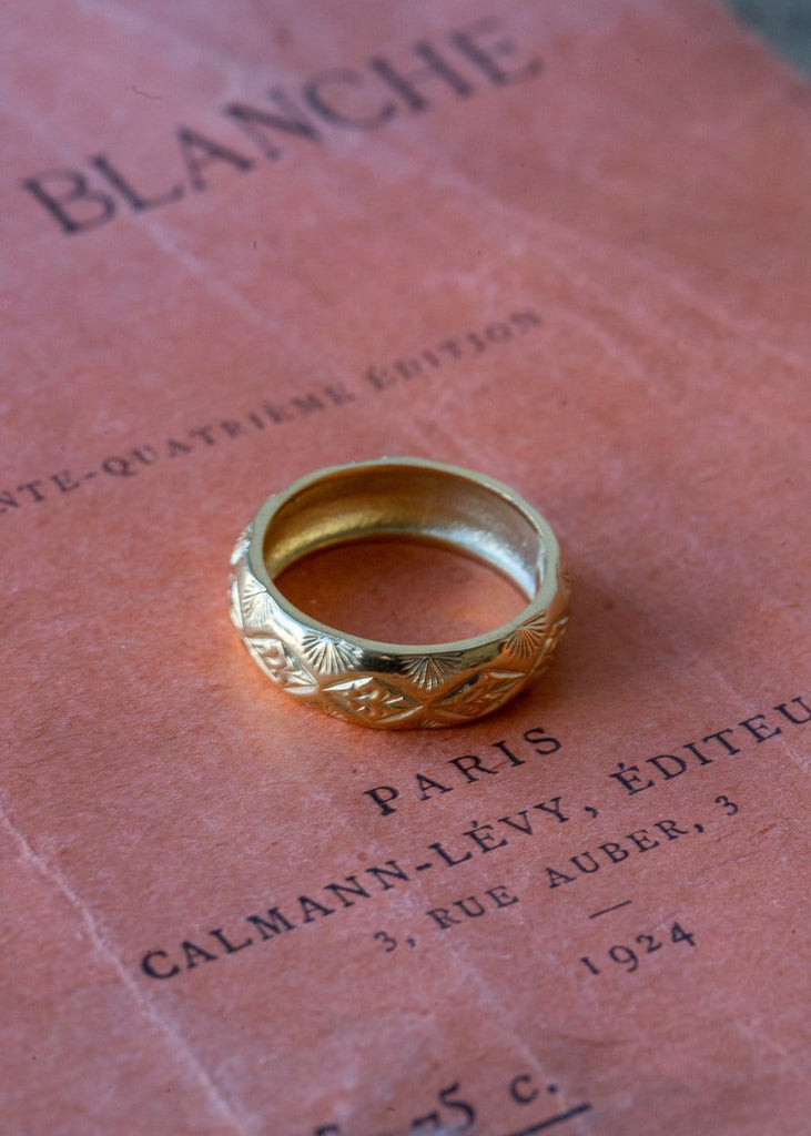 Cabinet – Diamond Palm Ring - The Small Home