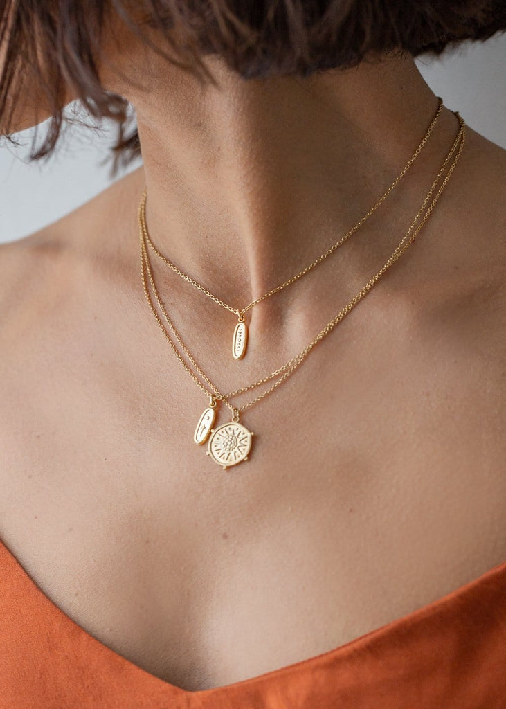 Cabinet – Explorer Pendant Necklace - The Small Home