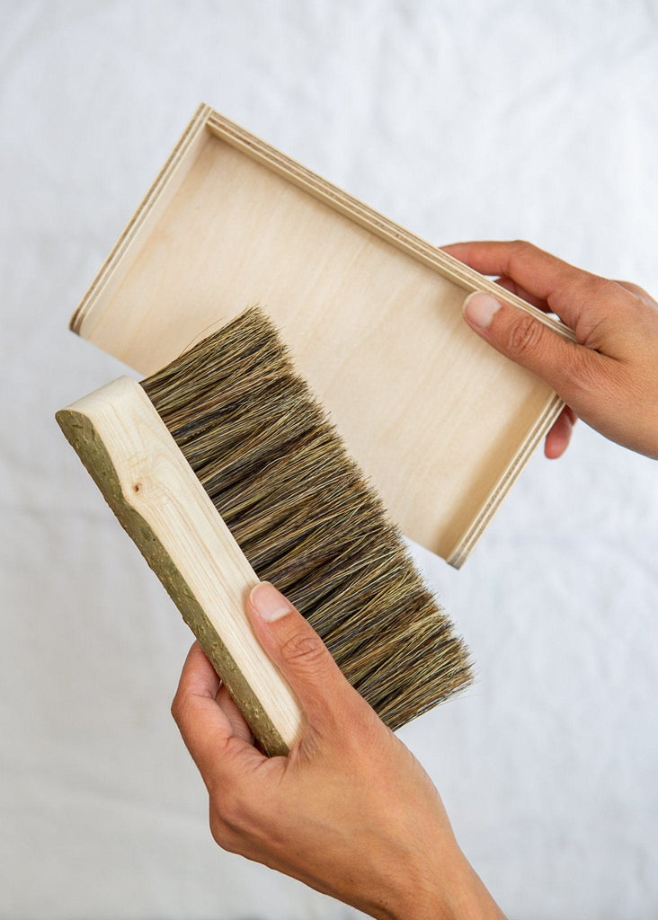 Geoffery Fisher Table Brush - The Small Home