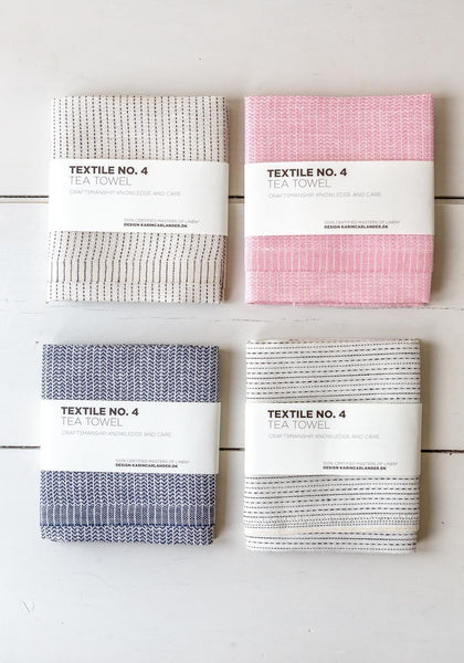 Karin Carlander – Textile No. 4 – Tea Towels - The Small Home