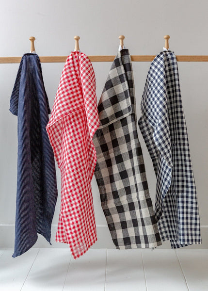 Linen Kitchen Cloths - The Small Home