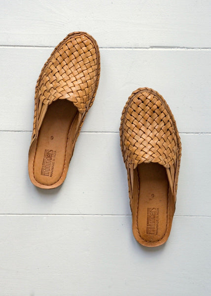 Mohinders City Slipper Shoe – Tan - The Small Home