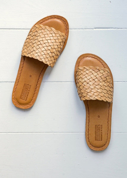 Mohinders Woven Sandals – Tan - The Small Home