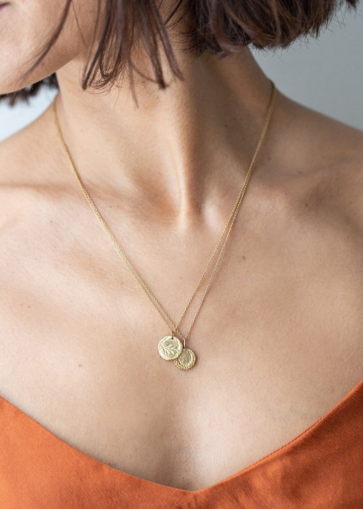 Molly Debiak - Gold Pasture Amulet Necklace - The Small Home