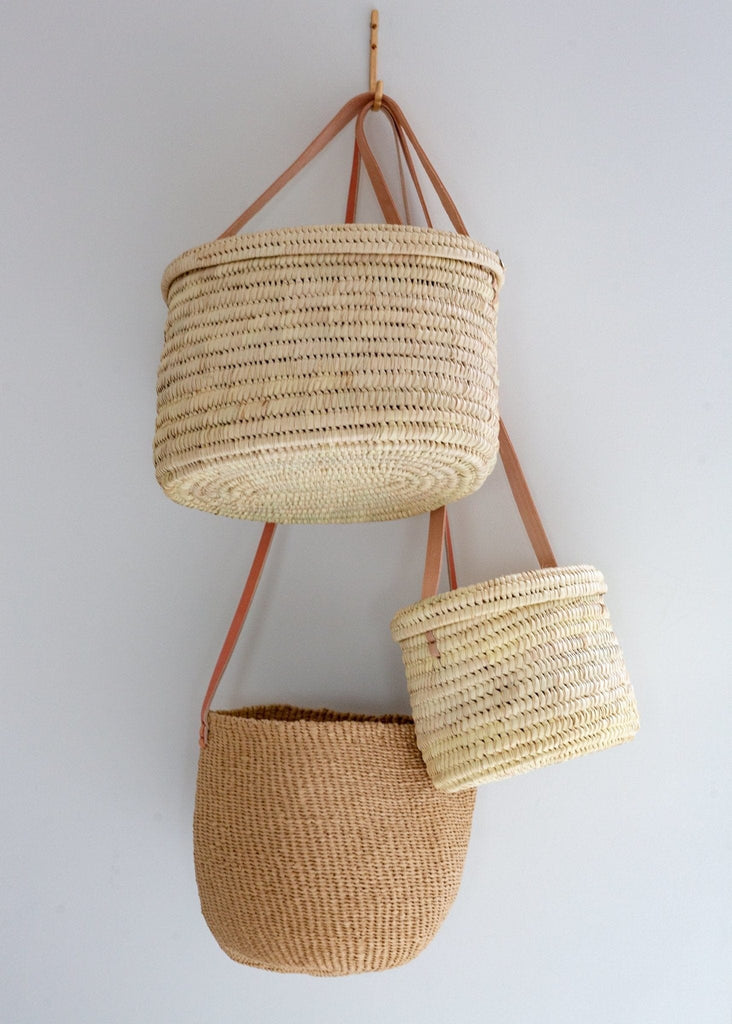Palm Leaf Shoulder Bag - The Small Home