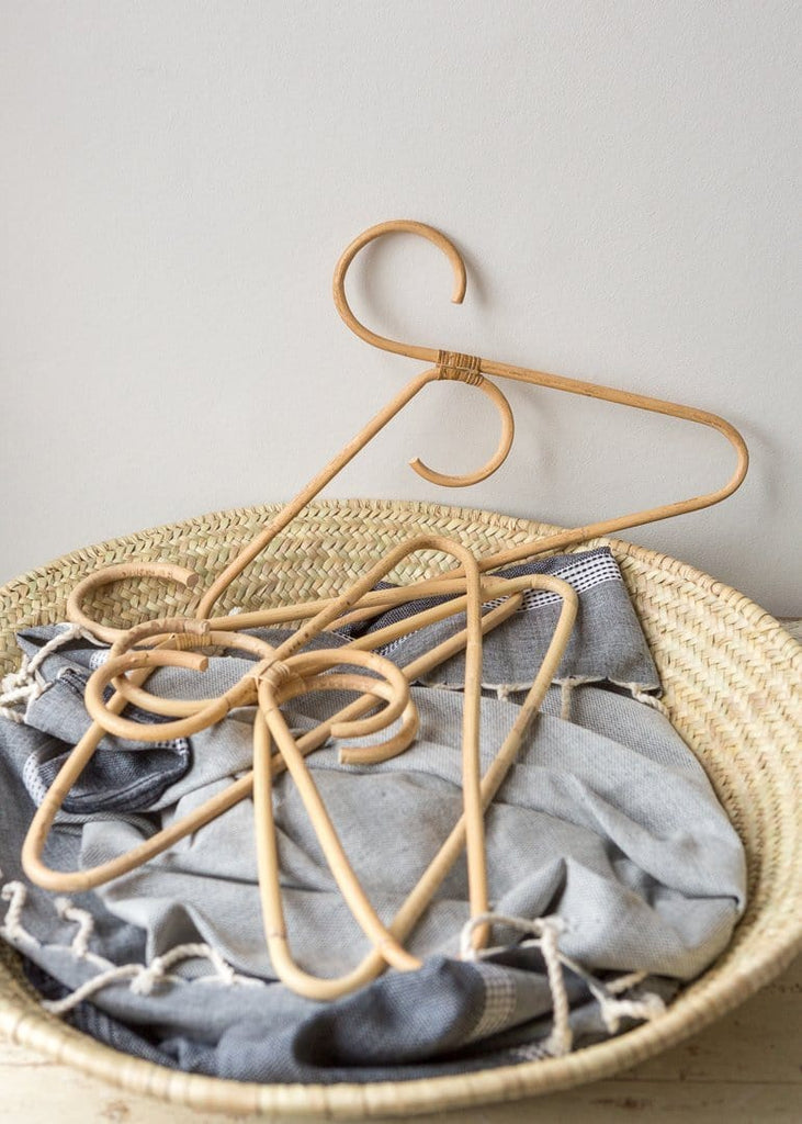 Rattan Clothes Hanger - The Small Home