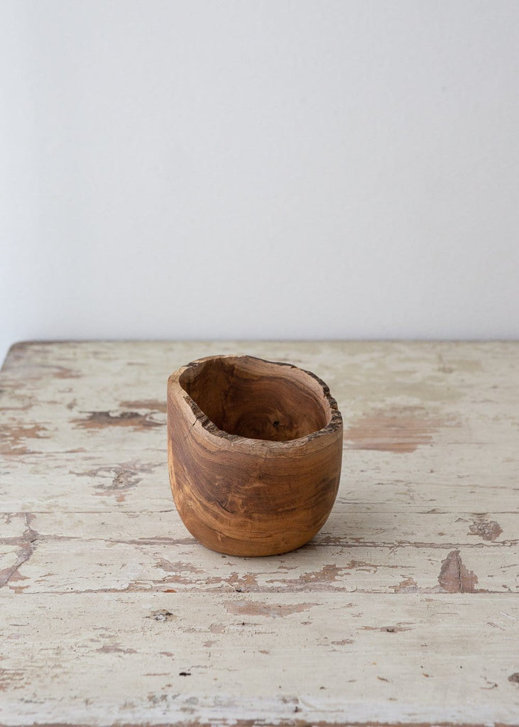 Reclaimed Teak Organic Bowls - The Small Home